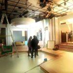 """As primeiras imagens do cenário """"O programa da Cristina"""""""