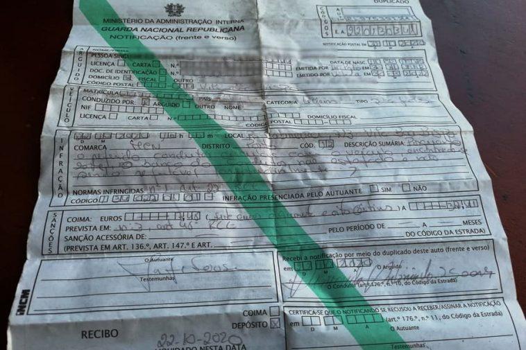 """Em Marco de Canaveses, GNR multou condutir em 7,48 euros por ter o banco do carro """"não estofado"""""""