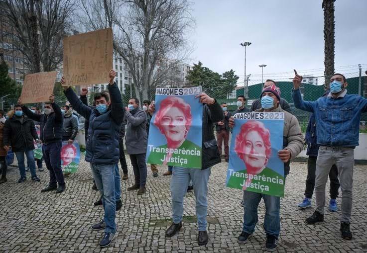 Campanha de André Ventura em Setúbal marcada por violência física. Ventura foi apredejado