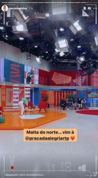 """""""Isabelinha"""" voltou à televisão portuguesa e não foi na TVI .... Veja em que canal foi!"""