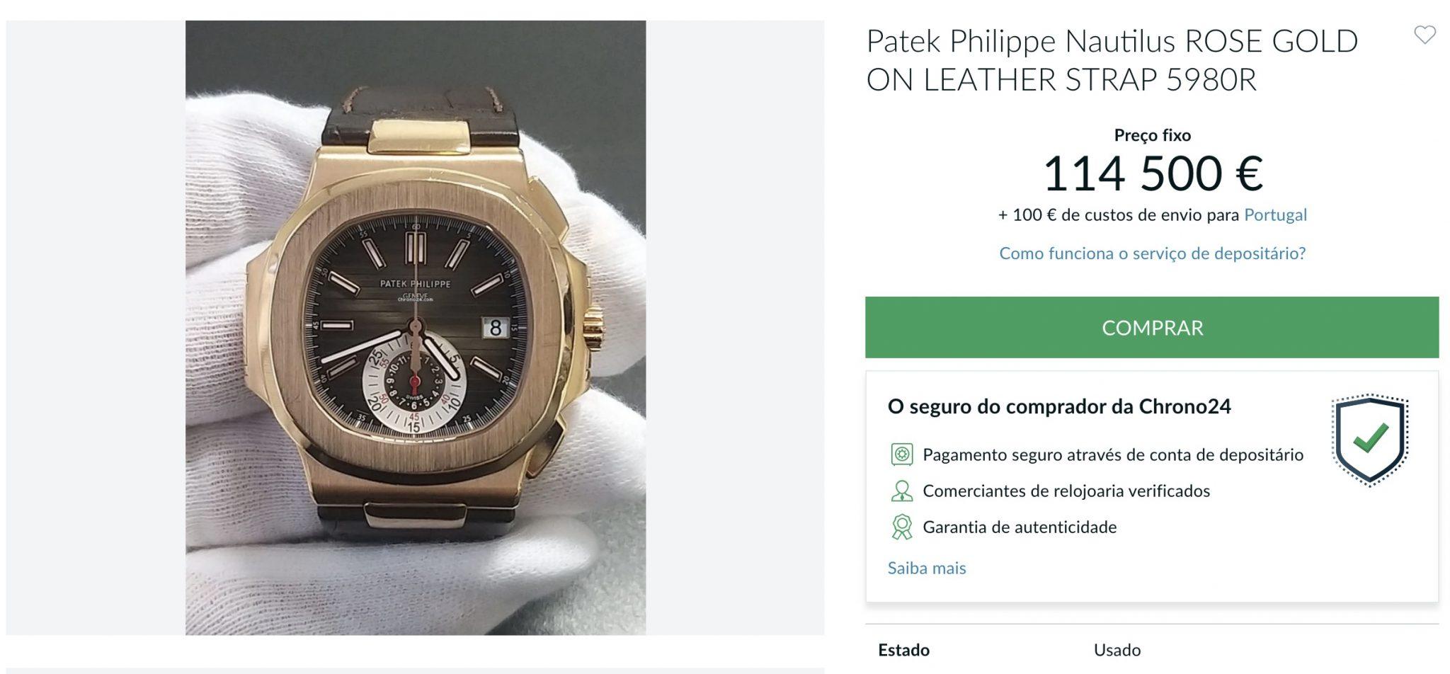 Luis Filipe Vieira usou um relógio de 110 mil euros na comissão de inquérito?